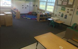 Our toddlers have much to explore in this classroom!